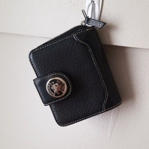 Dooney and bourke wallet leather black